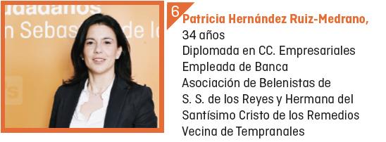 Patricia Hernández Ruiz-Medrano Ciudadanos San Sebastián de los Reyes